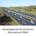 Mobilisation pour une alternative à l'A831